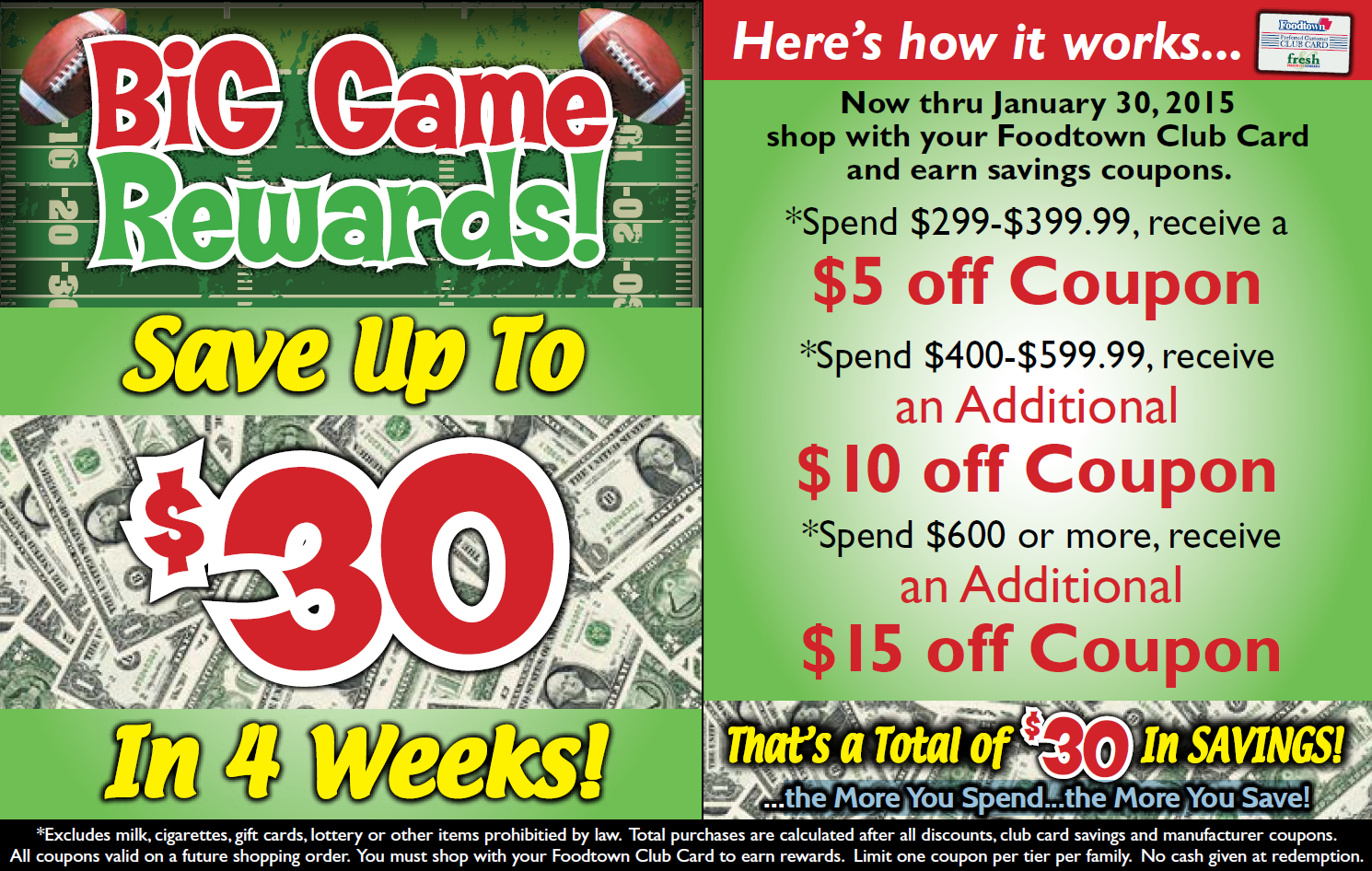 Thomas Big Game Rewards Online