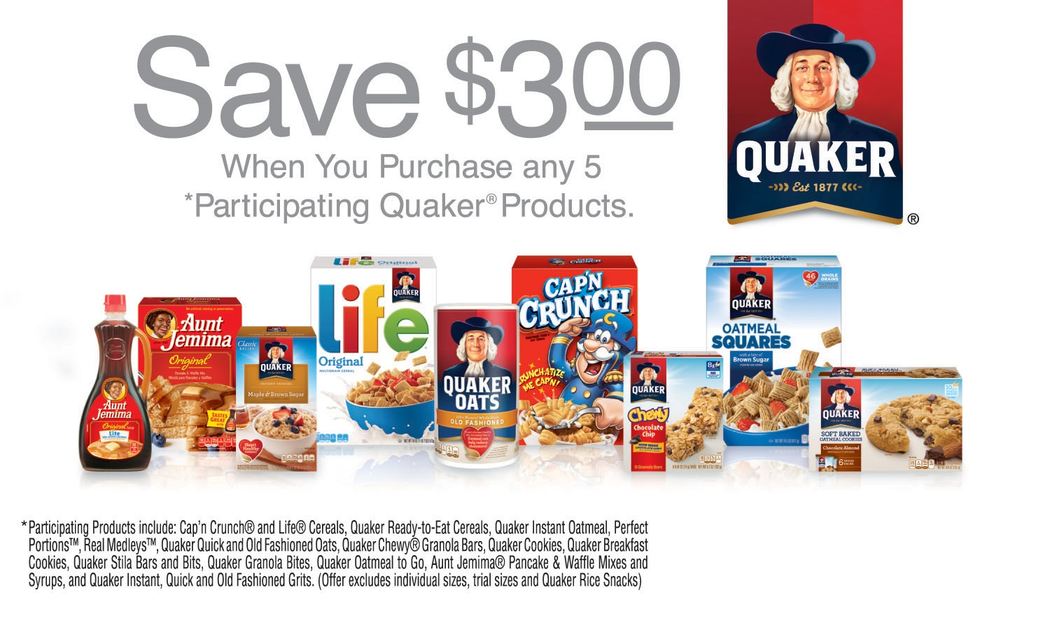 Quaker Products