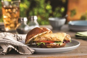 Foodtown Sweet Heat Grilled Chicken Sandwich from Kraft