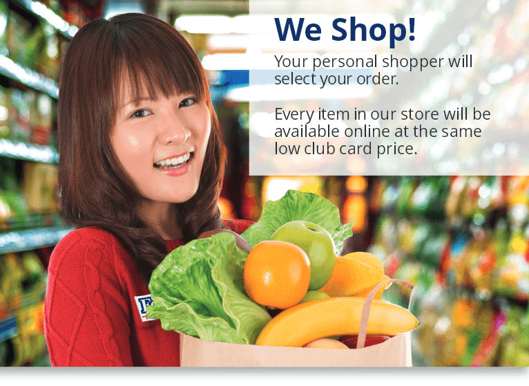 We Shop!