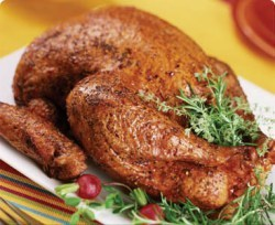 Deep Fried Turkey With Herbs