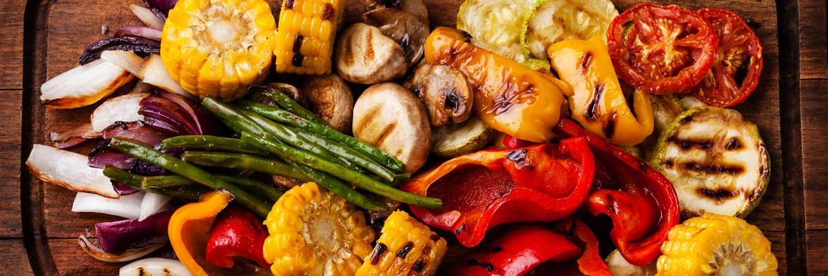 grilled vegetables blog banner