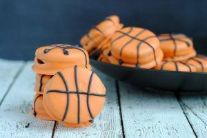 March Madness Slam Dunk Basketball Cookies Recipe resized