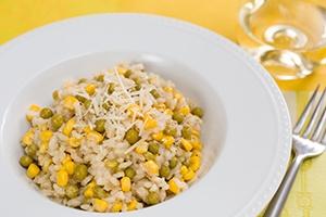 Pea Corn Risotto