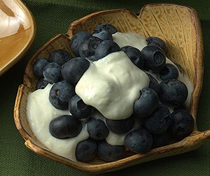 Lemon Cream Blueberries