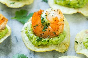 Mexican Shrimp Bites