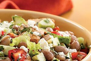 Pita Bean Salad