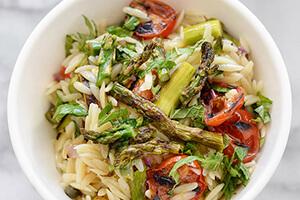 Grilled Asparagus Pasta Salad